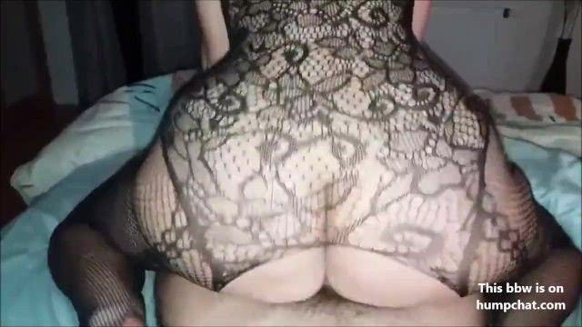 Milf bbw screwed doggystyle, cummed in her cum-hole