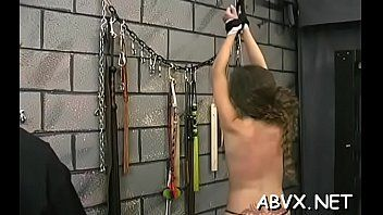 Amateur honey filthy cleft shagged in amateur servitude scenes