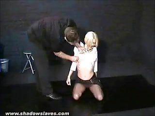 Villein cherry torn snatch punished and humiliating domination