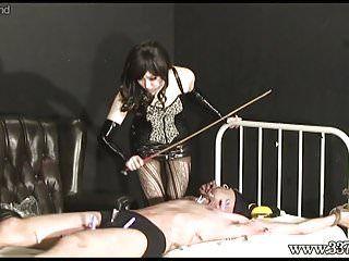 Japanese femdom electric training villein
